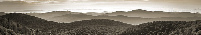 Blue Ridge Parkway Landscape Photography